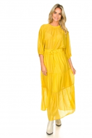 Set |  Maxi skirt with drawstring Isabella | yellow  | Picture 3