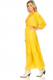 Set |  Maxi skirt with drawstring Isabella | yellow  | Picture 5