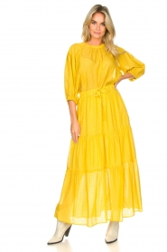 Set |  Maxi skirt with drawstring Isabella | yellow  | Picture 2
