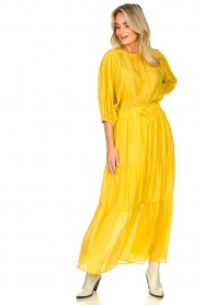 Set |  Maxi skirt with drawstring Isabella | yellow  | Picture 4