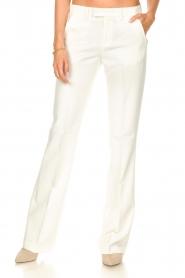 Liu Jo |  Wide leg trousers Iris | naturel  | Picture 5