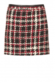 Liu Jo |  Skirt with print Indy | black  | Picture 1