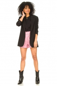 Set |  Cotton top with puff sleeves Rhode | black  | Picture 3
