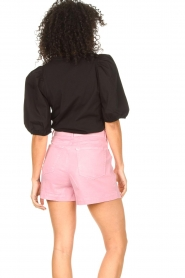 Set |  Cotton top with puff sleeves Rhode | black  | Picture 5