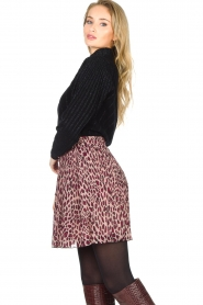 Liu Jo |  Skirt with animal print Lee | pink  | Picture 6