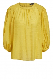 Set |  Blouse with print Ines | yellow  | Picture 1