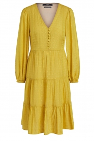 Set |  Printed midi dress Irem | yellow  | Picture 1