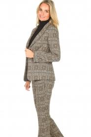 Liu Jo |  Checkered blazer Remy | brown  | Picture 5