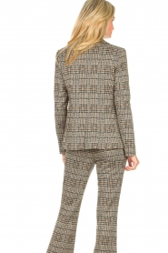 Liu Jo |  Checkered blazer Remy | brown  | Picture 6