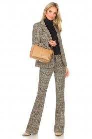 Liu Jo |  Checkered blazer Remy | brown  | Picture 3