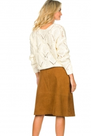 Set |  Openwork sweater Israe | white  | Picture 6