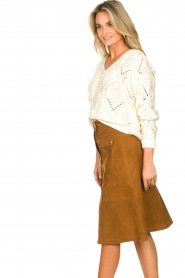 Set |  Openwork sweater Israe | white  | Picture 5