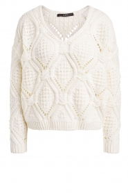 Set |  Openwork sweater Israe | white  | Picture 1
