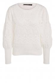 Set |  Openwork sweater Rivka | white  | Picture 1