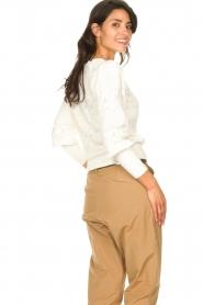 Set |  Openwork sweater Rivka | white  | Picture 6