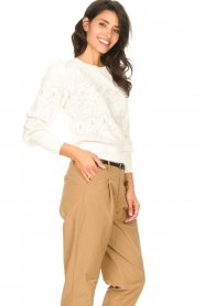 Set |  Openwork sweater Rivka | white  | Picture 5
