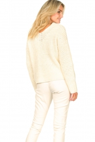 Set |  Chunky knit sweater Imane | natural  | Picture 8