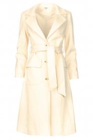 Liu Jo    Cloak coat with tie waist belt Joy   natural    Picture 1