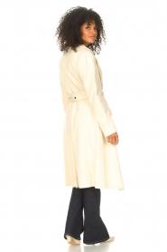 Liu Jo    Cloak coat with tie waist belt Joy   natural    Picture 7
