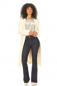 Liu Jo    Cloak coat with tie waist belt Joy   natural    Picture 3