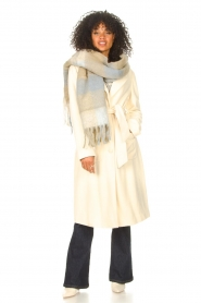 Liu Jo    Cloak coat with tie waist belt Joy   natural    Picture 2