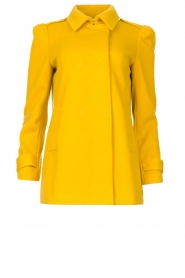 Liu Jo |  Coat with button details Sara | yellow  | Picture 1