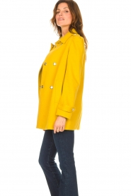 Liu Jo |  Coat with button details Sara | yellow  | Picture 5
