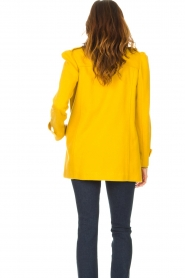 Liu Jo |  Coat with button details Sara | yellow  | Picture 6