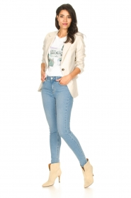 Set |  Cotton T-shirt with print Roos | white  | Picture 3