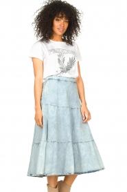 Set |  Denim midi skirt Robin | blue  | Picture 2