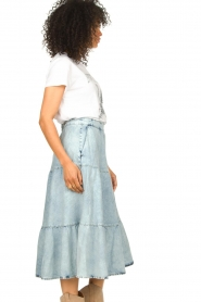 Set |  Denim midi skirt Robin | blue  | Picture 6