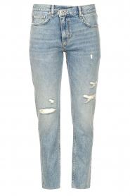 Liu Jo Denim |  Straight leg jeans Maya | blue  | Picture 1