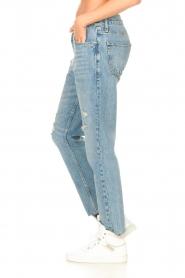 Liu Jo Denim |  Straight leg jeans Maya | blue  | Picture 6