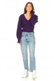 Liu Jo Denim |  Straight leg jeans Maya | blue  | Picture 3