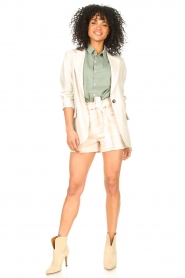Set |  Long blazer Rosie | natural  | Picture 3