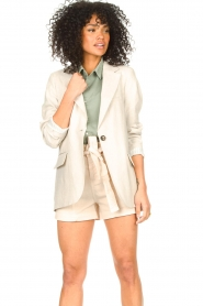 Set |  Long blazer Rosie | natural  | Picture 4