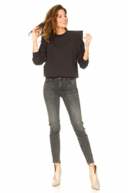 Liu Jo Denim |  Skinny stretch jeans Kimberly | black  | Picture 2