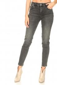 Liu Jo Denim |  Skinny stretch jeans Kimberly | black  | Picture 4
