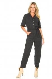Set |  Utility jumpsuit Ilona | black  | Picture 4