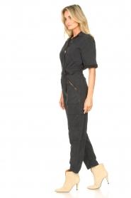 Set |  Utility jumpsuit Ilona | black  | Picture 6