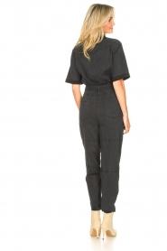 Set |  Utility jumpsuit Ilona | black  | Picture 7