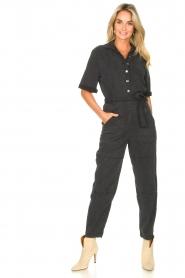 Set |  Utility jumpsuit Ilona | black  | Picture 2