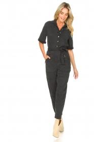 Set |  Utility jumpsuit Ilona | black  | Picture 3