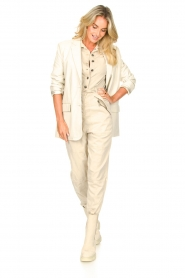 Set |  Utility Lyocell jumpsuit Ilona | natural  | Picture 4