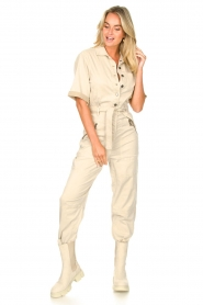 Set |  Utility Lyocell jumpsuit Ilona | natural  | Picture 5