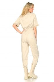 Set |  Utility Lyocell jumpsuit Ilona | natural  | Picture 8