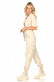 Set |  Utility Lyocell jumpsuit Ilona | natural  | Picture 7