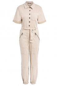Set |  Utility Lyocell jumpsuit Ilona | natural  | Picture 1