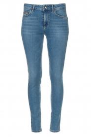 Liu Jo Denim |  Skinny stretch jeans Kimberly | light blue  | Picture 1