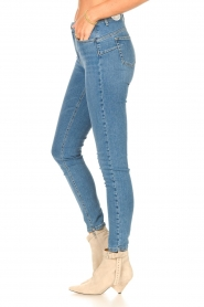 Liu Jo Denim |  Skinny stretch jeans Kimberly | light blue  | Picture 5